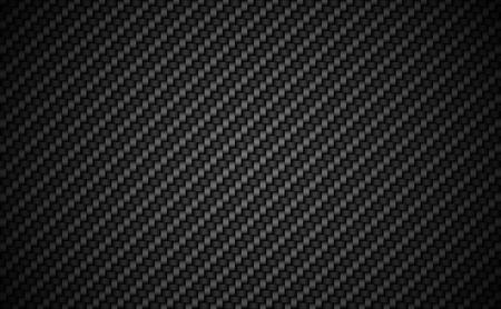 Kohlefaser-Twill 2 x 2 Hintergrund. EPS-10-Vektor. Vektorgrafik