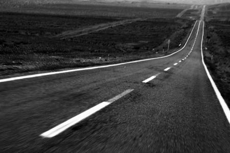 Motion blurred road 스톡 콘텐츠