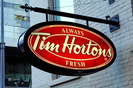Tim Hortons Sign