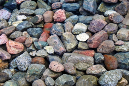Stones under water Stock Photo - 17969298