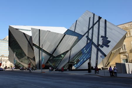 TORONTO - JUNE 14: The Royal Ontario Museum on June 14, 2013 in Toronto, Canada. ROM is one of the largest museums in North America, attracting over one million visitors every year.