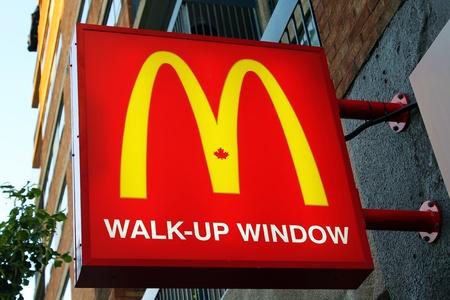 mcdonalds: McDonalds restaurant sign