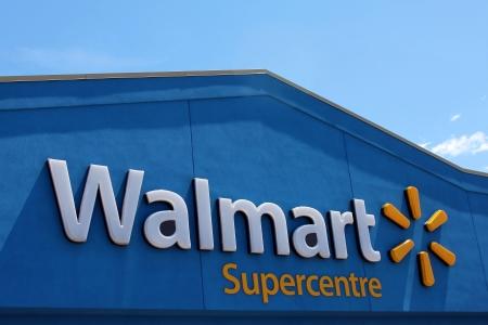 Walmart Supercentre sign