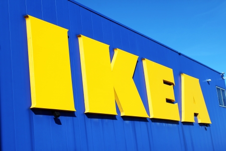 IKEA store sign Stock Photo - 23492643