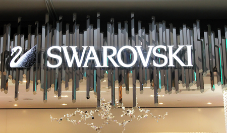 Swarovski sign Editorial