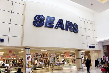 Tienda por departamentos Sears Foto de archivo - 27794109