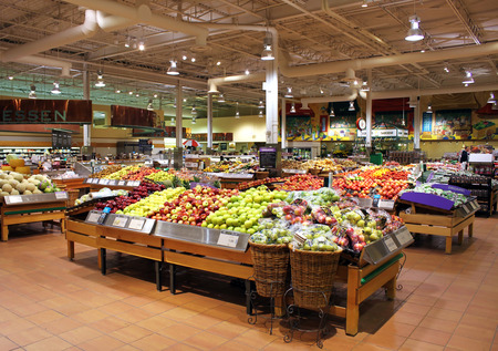 Loblaws supermarket in Toronto, Ontario, Canada