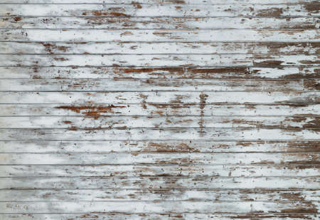 old wood background texture with paint peeling off and copy space