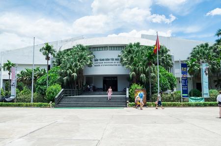 Hanoi, Vietnam - August 16, 2015: the Vietnam Museum of Ethnology showcases the 54 ethnic groups of Vietnam. Sajtókép