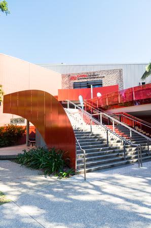 Brisbane, Australia - July 9, 2017: Griffith University Queensland Conservatorium at Southbank. It has 45000 students across 5 campuses.