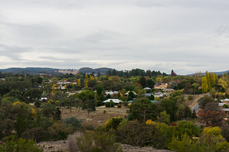 View of Beechworth in Indigo Shire in north eastern Victoria, Australia. Foto de archivo - 118704448