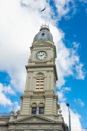The former North Melbourne Town Hall on Errol and Queensberry Streets was built in 1876. It is now used as an Arts House.