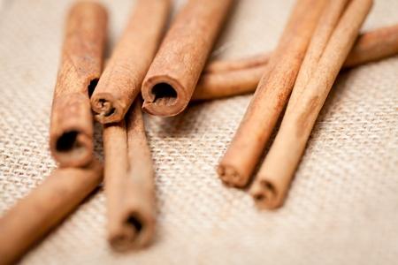 aromatic cinnamon sticks detail macro closeup christmas wintertime Stock Photo - 20853679