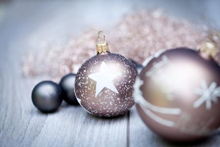 festlichen Glanz Flitter Weihnachtsdekoration saisonale Winterurlaub Lizenzfreie Bilder
