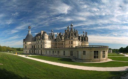 loire: Chambord Castle on the Loire River. France. Europe