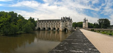 loire: The Chateau de Chenonceau. Loire Valley. France