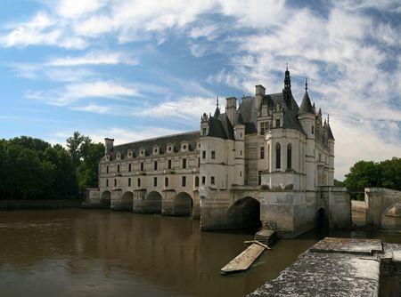The Chateau de Chenonceau. Loire Valley. France photo