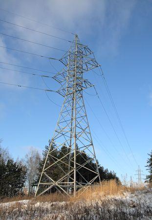 Transmission pylon (Electricity pylon) photo