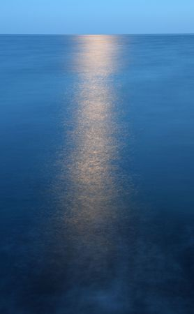 Reflection of the moon Stock Photo - 5538601