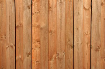 Wooden wall texture background with knots Stock Photo