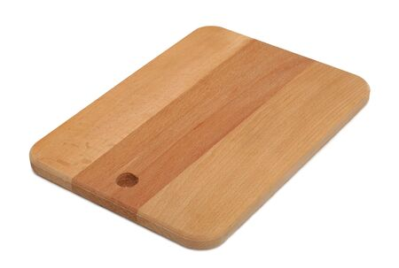 Chopping board, isolated on a white background photo