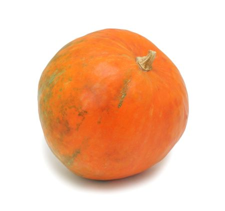 Pumpkin, isolated on a white background photo