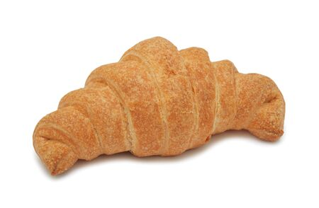 Croissant, isolated on a white background photo