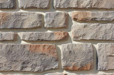 Close-ups of brick wall photo