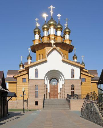 geloof hoop liefde: Tempel van de heiligen geloof, hoop, liefde en hun moeder Sophia, Belgorod, Rusland