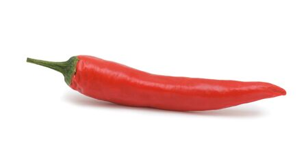 Hot chili pepper, isolated on a white background Stock Photo - 8085147