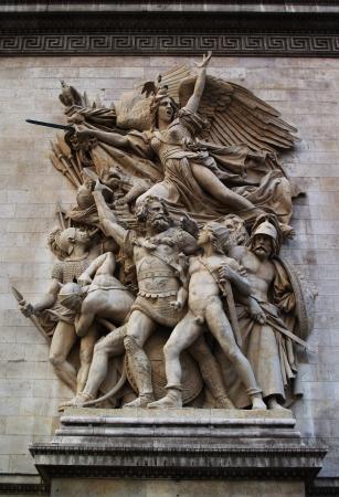 bas relief: Bas-relief Marseillaise sur Arc de Triomphe