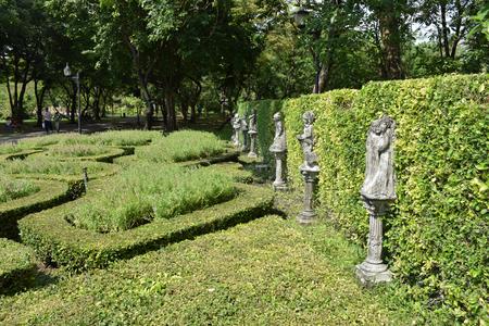 statuary garden: statue design in the garden Stock Photo