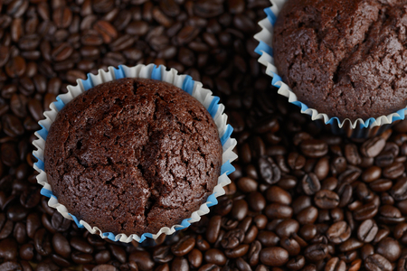 muffins or coffee cake Stock Photo