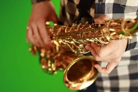 saxophones: saxophones