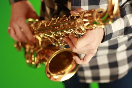 saxophonist: saxophonist