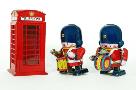 phone booth and guard Stock Photo - 15501255
