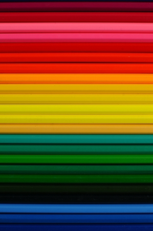 multi colors: color pencils for background Stock Photo