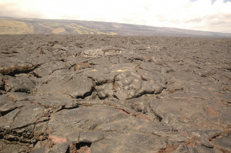 Lava flow  photo