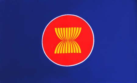 economic: flag of Asean Economic Community Editorial