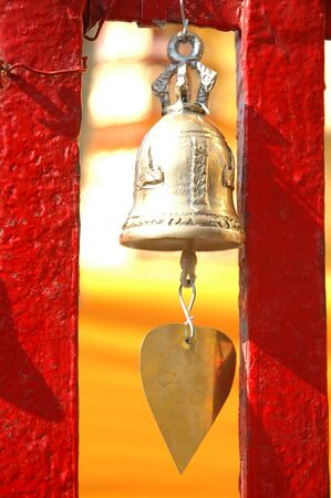ravel: Traditional asian bell in temple
