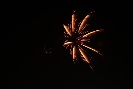 panoply: National Fireworks,hua hin, Thailand Stock Photo