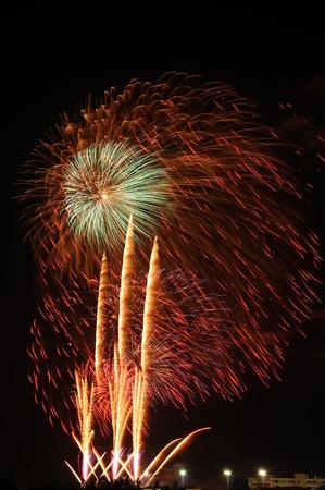 panoply: National Fireworks at hua hin, Thailand