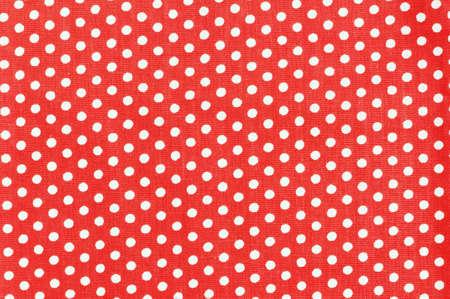 polka dot fabric: Polka dot tessuto per lo sfondo