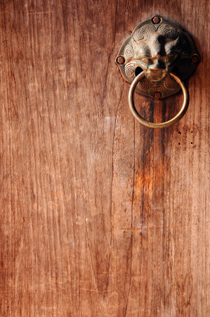 old antique door for background photo