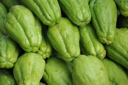 chayote: Fresh Chayote vegetables Stock Photo