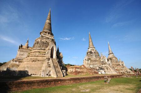 Wat Phra Sri Sanphet, Ayutthaya, Thailand  photo