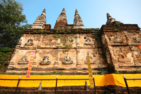 wat jedyod: wat jed-yod,the temple in chiangmai,Thailand