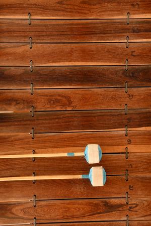xilofono: Instrumento musical tailand�s (Alto xil�fono) Foto de archivo