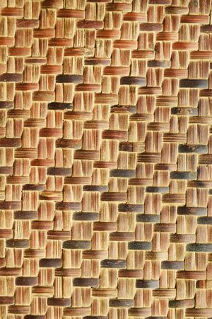 threshing: wood pattern of threshing basket Stock Photo