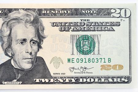 close-up van biljet geïsoleerd op een witte achtergrond Stockfoto